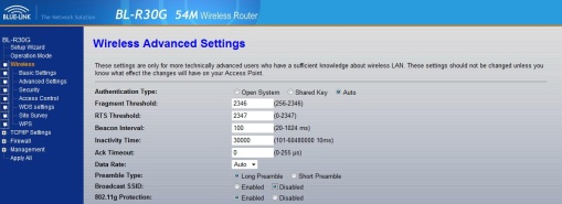 Disable SSID